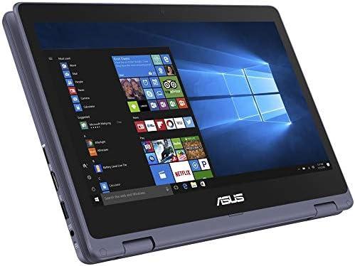 ASUS VivoBook Flip 2020 Premium Thin and Light 2-in-1 Laptop I 11.6″ HD Touchscreen I Intel Core Celeron N3350 I 4GB RAM 64GBeMMC I Office 365 Win 10 + Delca 16GB Micro SD Card 41b2iPu5zqL