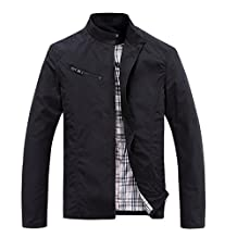 Heng Heng - autumn and winter men's clothing outerwear, fashion casual wadded jacket type is casual (SIZE : XL)(Asian Size)