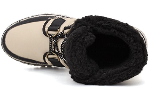 Zapatillas Black Bisque Beige para Altas 180bisque Black 180 Mujer Sorel Carnival Cozy qwOE0ZB