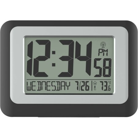 Perfect Better Homes And Gardens Digital Clock With Indoor Temperature
