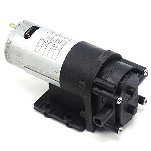 Hydraulic Water Mattress - 24V Mini Gear Pump Self-priming Water Pump Corrosion-Resistant ZC-520