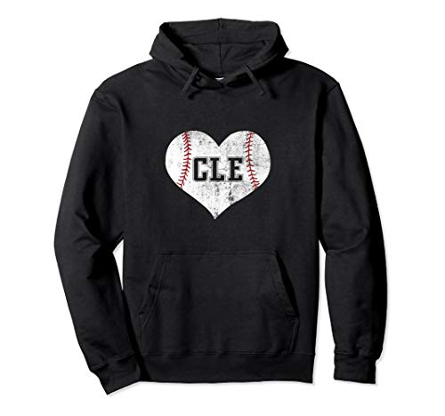 Vintage Cleveland Baseball Swetshirt Hoodie Ohio CLE