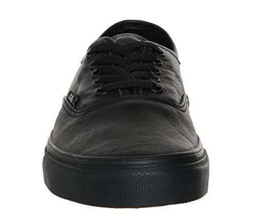 Authentic Vans 0 Black Black Leather US5 fnaSzYP