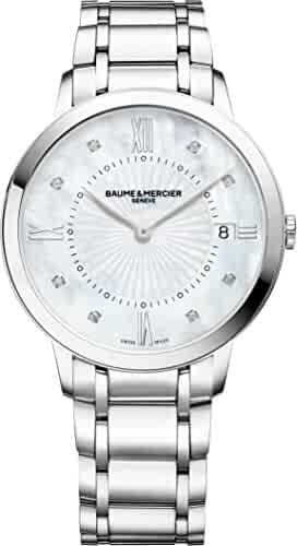 Baume & Mercier Classima 10225 Quartz Diamond Womens Watch