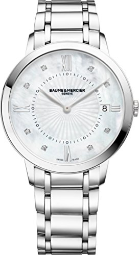 Baume-Mercier-Classima-10225-Quartz-Diamond-Womens-Watch