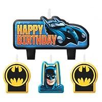 Batman Birthday Candles - 4 ct