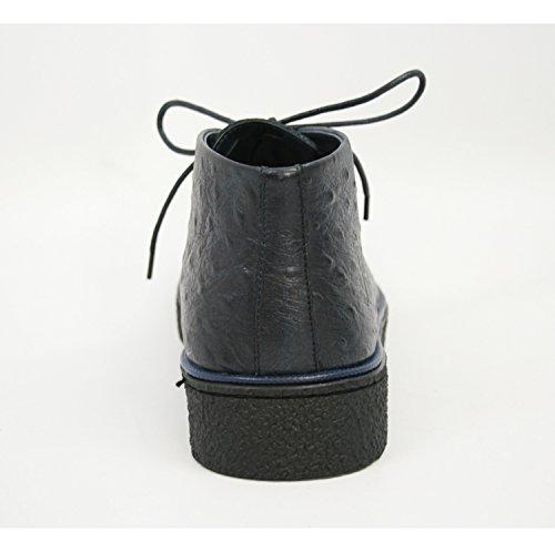 The Original British Walkers Men's Playboy High top Chukka Boot Navy Ostrich Leather free shipping deals free shipping low shipping countdown package cheap online XXU7kTB