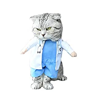 gotd médico DISFRAZ mascota perro invierno ropa chaqueta abrigo chaleco cachorro gato Jersey sudadera con capucha Prendas de vestir