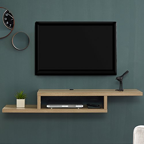 A/v Component Wall (Martin Furniture IMAS360B Asymmetrical Wall Mounted a/V Console, 60