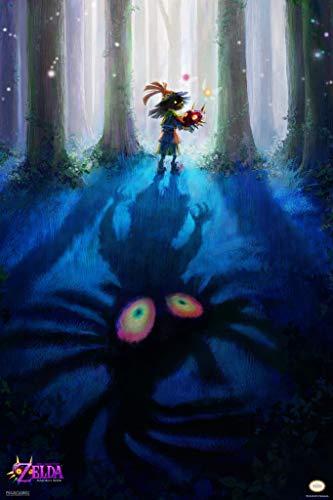 (Pyramid America The Legend of Zelda Majoras Mask Skull Kid Nintendo Video Game Poster 12x18 inch)