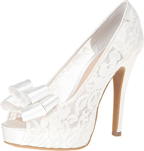 Chinese Laundry Women's Hopeful Peep-Toe Pump,Pearl,8.5 M US