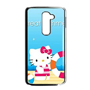 SANLSI Hello kitty Phone Case for LG G2 Case