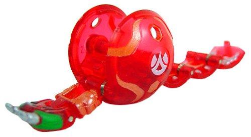 Centipoidレッド半透明Bakugan Battle Brawlerブースターパック[おもちゃ] B001E9BG6S