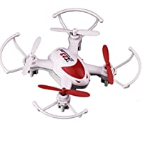 Owill SY X23 Mini Quadcopter RC 6 Axis Gyro LED Light 4CH Headless Mode Drone/ Full Scale Operation Function (Red)