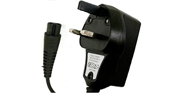 3 pin Reino Unido cargador para afeitadora eléctrica Philips ...