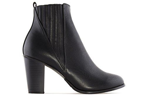 Übergrößen Stiefelette Machado Damen Schuhe Schwarz Andres in zwvYqYC