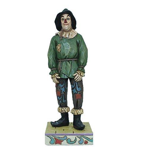 Jim Shore Scarecrow 4044759 Brain Wizard Oz ()