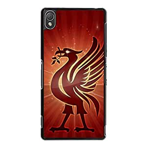 Liverpool Football Club Phone Case for Sony Xperia Z3 Stylish Classical Liverpool FC Logo Durable Phone Cover Case