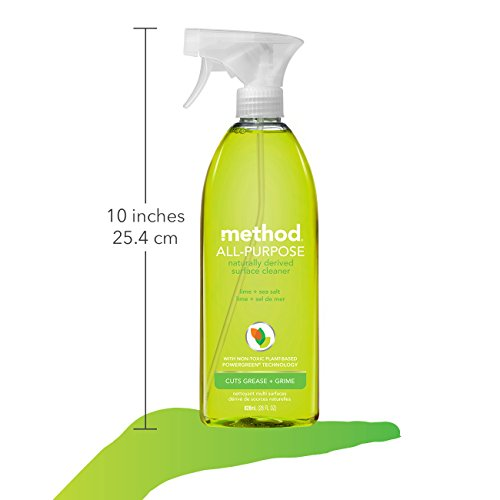 Method All Purpose Cleaner, Lime + Sea Salt, 28 Ounce (8 Count) by Method (Image #6)