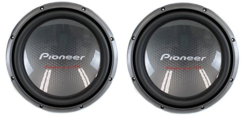 "2) Pioneer 12"" 4000W Champion Car Power Subwoofers 4-Ohm DVC Subs 