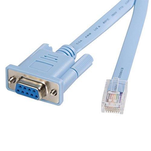 StarTech 6 ft. RJ45 to DB9 Cisco Console Management Router Cable - M/F (DB9CONCABL6) - 1200 Platform Console Cable
