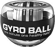 GOZATO Auto-Start Wrist Power Gyro Ball, Wrist Strengthener and Forearm Exerciser for Stronger Arm Fingers Wri