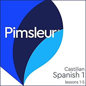 Castilian Spanish Phase 1, Unit 01-05 Audiobook