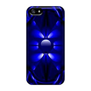 Living Poet Snap On Hard Case Cover 2 Blue Protector For Iphone 5/5s
