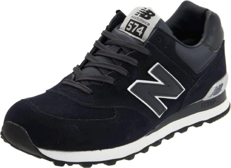 New Balance M574GS-574, Men Training Running Shoes, Black (Grey 030), 6.5 UK (40 EU)