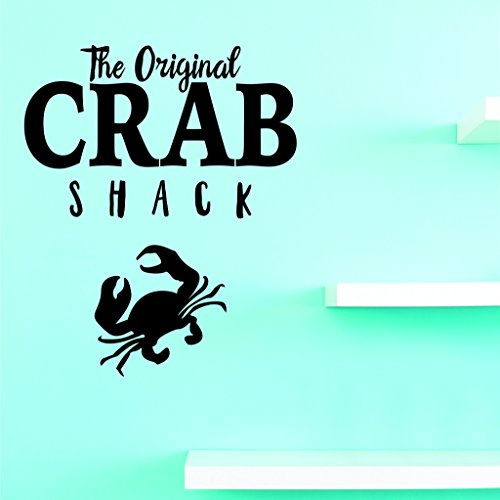- Design with Vinyl JER 1999 1 Hot New Decals The Original Crab Shack Wall Art Size: 12 Inches x 18 Inches Color: Black, 12