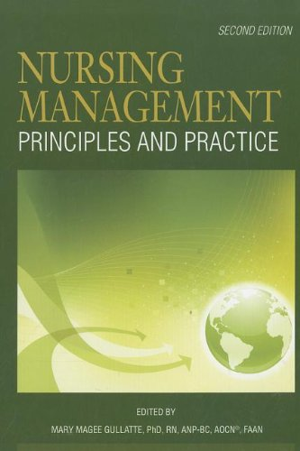 Nursing Management: Principles and Practice (2nd Edition) by Oncology Nursing Society