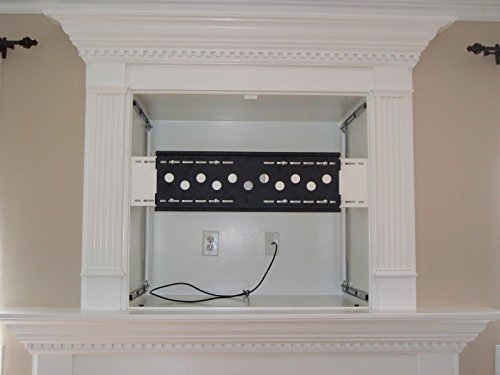 SlydLock Fireplace Nook TV Mount - Fits all Plasma/LCD/LED ...