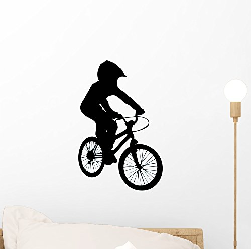 Cheap  Wallmonkeys Bmx Wall Decal by Peel and Stick Graphic (12 in H..