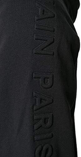 Balmain Luxury Fashion Herren TH13122I2400PA Schwarz Baumwolle Sweatshirt | Jahreszeit Permanent