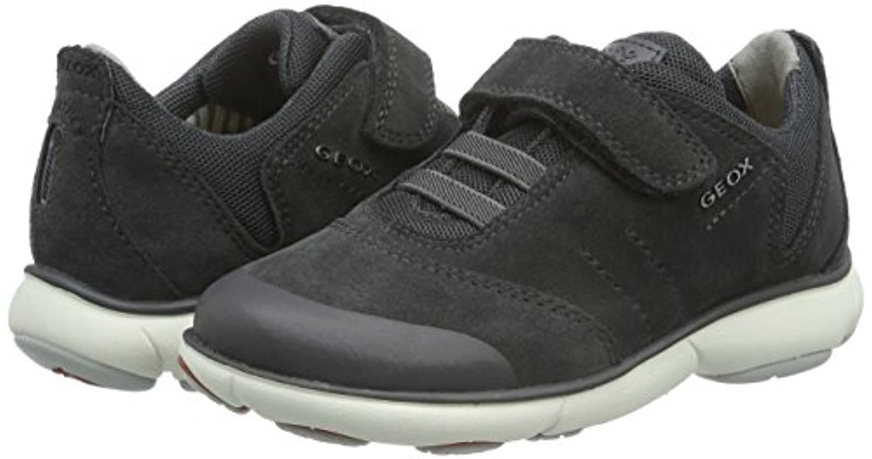 Geox J NEBULA BOY A, Boys' Low-Top Sneakers, Grey (DK GREYC9002), 7 Child  UK (24 EU)