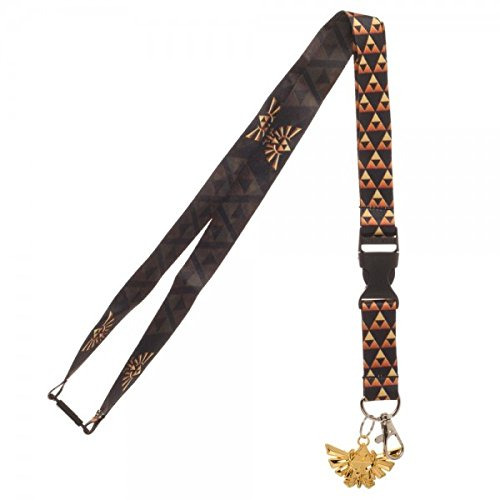 Amazon.com: Nintendo Zelda Shield Lanyard con el metal ...
