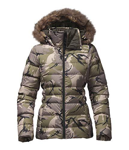 - The North Face Women's Gotham Jacket II - Burnt Olive Green Disrupt Camo - XL (Past Season)