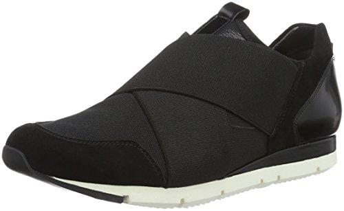 Kennel und Schmenger Schuhmanufaktur Damen Tiger Sneakers Schwarz (Black)