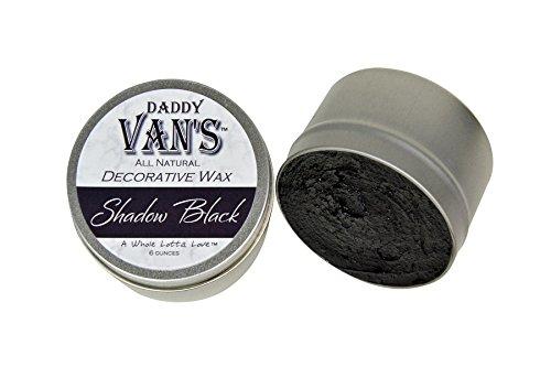 Daddy Van's All Natural Shadow Black Decorative Wax