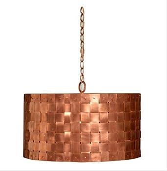 St james lighting basket weave copper chandelier small size st james lighting basket weave copper chandelier small size aloadofball Choice Image