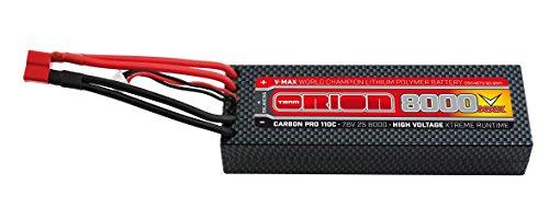 Team Orion Carbon V-Max 7.6V 8000 2S 110C Deans Battery