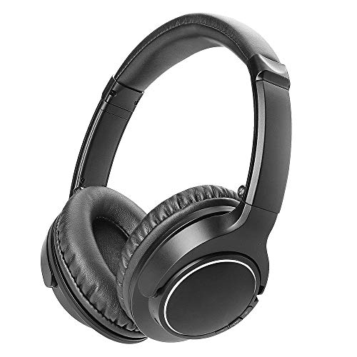 Price comparison product image Wireless Headphones,  Giaride Bluetooth Over-Ear Foldable Headphones with 30 Hours Playtime,  Microphone Hi-Fi Deep Bass Stereo,  Active Noise Cancelling,  Foldable Design for PC Cell Phones,  TV