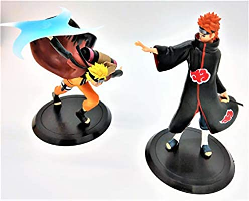 Collectible Naruto Action Figure in Sage Mode Comes with adhesive glue