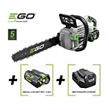 EGO CHAINSAW 56V CORDLESS RECHARGABLE 14' CS1400E + BATTERY & CHARGER
