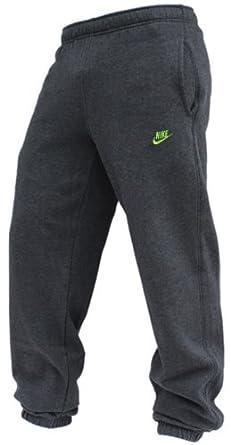 Nike 415307- Pantalones de chándal para hombre, color gris y verde ...