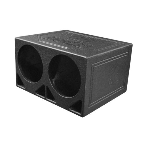 """Q Power QBOMB10TB Dual 10"""" Turbo Ported Subwoofer Enclosure for sale  Delivered anywhere in USA"""
