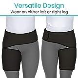 Vive Groin and Hip Brace - Sciatica Wrap for Men