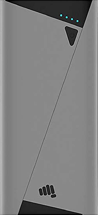 Micromax 10400 mAh Power Bank (Grey) (PBAPB1041GRB)