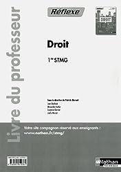 Droit - 1re STMG - livre du professeur