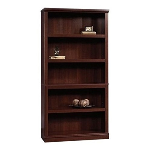 Palladia Collection - Sauder  Sauder Select 5-Shelf Bookcase, Select Cherry Finish